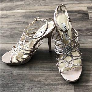 Nina rhinestones heels